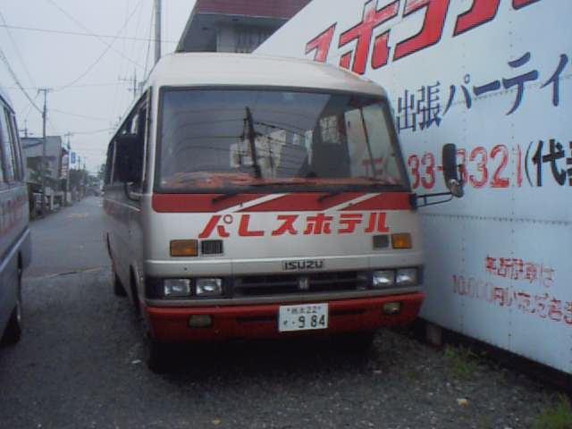 パレスホテル いすゞジャーニー ※ホテル自体が閉鎖で、建物を再使用して... 栃木のバス資料館