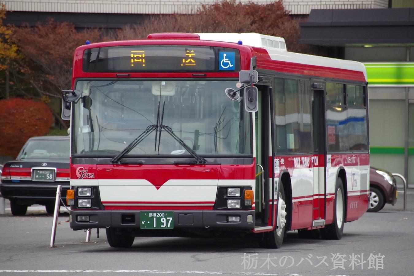 東野交通 移籍車 いすゞLV280 元...